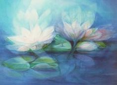 Liane Collot d'Herbois - - Yahoo Image Search Results Plant Painting, Painting & Drawing, Watercolor Paintings, Art And Illustration, Wet On Wet Painting, Art Aquarelle, Rudolf Steiner, Chalkboard Art, Painting Techniques