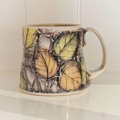 Happy first officially Autumn #mugshotmonday . . #canadianclay #canadianceramics #autumnleaves #autumnlove #mug #ceramics #pottery #ceramique #poterie #albertacraft #albertamaker #tableware #tablewaredesign #contemporarytableware #hearthandhome #homedesign #homestyle #designinspiration #potterylove #pottersofinstagram #wearethemakers #simplejoys #simplepleasures #coffeeaddict #coffeeholic #handmademug #wheelthrown #decorativepottery