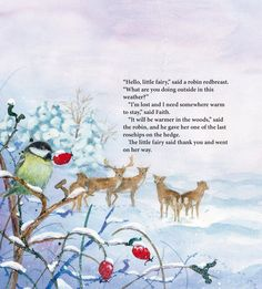 Festive scene in a Christmas picture book by Daniela Drescher
