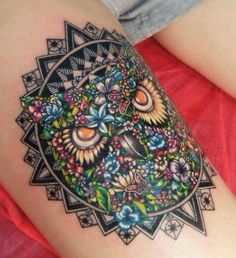 Wow, this almost looks photo shopped. Great job! #tattoo