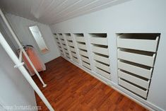 this could work Wardrobe Solutions, Side, Closet Storage, Modern Kitchen Design, Nest, Stairs, Bedroom, House, Furniture