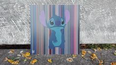 This cinemagraph shows the character Stitch from the film Lilo & Stitch on a background of the colours of the film. Cinemagraph, Lilo And Stitch, Colours, Film, Character, Art, Lelo And Stich, Movie, Art Background