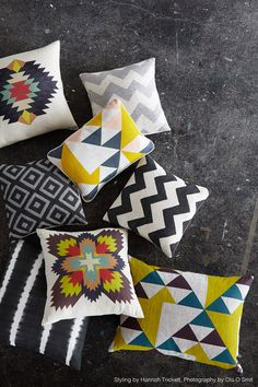 Cushions with serious style