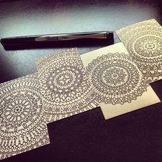 zentagle, pattern, artwork, drawing, illustration, sharpie art, black & white, line art, doodle