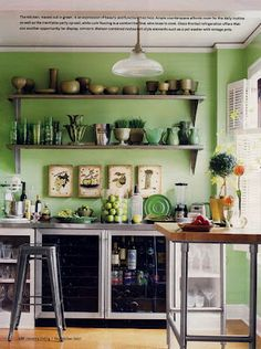 Green Kitchen | Ted Watson