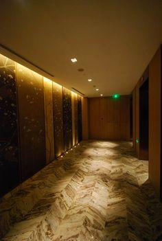 Four Seasons Hotel, Pudong, Shanghai, China Lounge Lighting, Lighting Design, Lobby Lounge, Four Seasons Hotel, Shanghai, China, Studio, Interior, Light Design