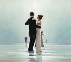 Jack Vettriano / Leonard Cohen | Dance me to the end of love