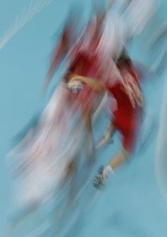 Handball Multi Coloured Rings, Multiple Exposure, Sport Inspiration, Creative Pictures, Olympics, Art Photography, World, Beautiful, Sport Design