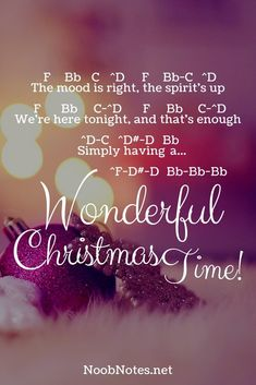 music notes for newbies: Wonderful Christmas Time – Paul McCartney. Play popular songs and traditional music with note letters for easy fun beginner instrument practice - great for flute, piccolo, recorder, piano and Guitar Guy, Guitar Songs, Guitar Tabs, Song Notes, Music Notes, Christmas Piano Music, Acoustic Guitar Chords, Ukulele, Violin