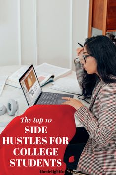10 side hustles that I believe every college student should try out to earn extra money. You'll love trying out every single one of them. They are easy jobs and simple side hustles that you can start doing to make money. #makemoney #collegehacks #studentjobs #earnmoney