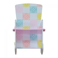 Kidsaw Country Cottage Rocking Chair The bedroom, the playroom, the living room. This traditional design fits within any setting. Oh, and did I mention the gorgeous floral gingham design! Durable paint finish with no sharp edges. A tradi http://www.MightGet.com/march-2017-1/kidsaw-country-cottage-rocking-chair.asp
