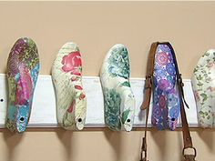 Image result for perchero con hormas de zapatos pinterest
