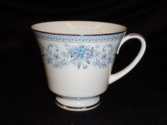 Noritake Tea Cup Floral Contemporary 2482 Blue Hill Vintage China   eBay
