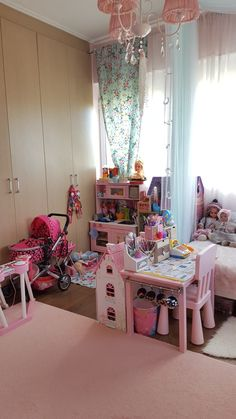 Marilias small desk in bedroom Baby Boy Room Decor, Baby Boy Rooms, Little Girl Rooms, Bedroom Desk, Girls Bedroom, Pastel Room, Toddler Rooms, Room Accessories, Kids Room