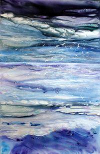 sea painting - D Kerstein