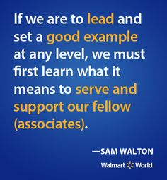 the good characteristics of sam walton Sam walton research their life, management style, employment background,  and what skills, traits, and characteristics made them a good leader 1496 words .