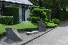 Moderner Steingarten Holen Sie Die Japanische Kultur Zu Sich Nach