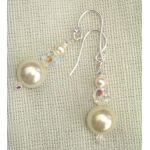 Perfect Pearl and Crystal Earrings