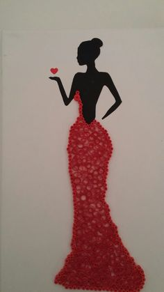 Valentine's Day 2020 - Valentines Day Poems of Love Arte Quilling, Paper Quilling Designs, Quilling Paper Craft, Quilling Patterns, Paper Crafts, Button Art, Button Crafts, Art N Craft, Diy Art