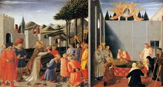 The Story of St Nicholas 1447-48 Tempera and gold on panel, 34 x 60 cm Galleria Nazionale dell'Umbria, Perugia
