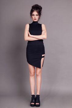 Spódnica Pixie black - 82853
