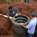 Sustainable Septic Tank Made with Recycled Tires