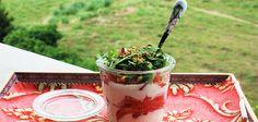 Tarritos de ensalada para llevar a cualquier parte Acai Bowl, Breakfast, Food, Appetizers, Recipes, Acai Berry Bowl, Morning Coffee, Essen, Meals