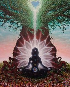 New yoga tattoo namaste universe Ideas Deep Meditation, Chakra Meditation, Meditation Music, Auras, Pranayama, Lord Jagannath, Yoga Tattoos, Spiritual Meaning, Color Meanings