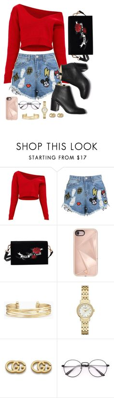 """09/14/2017"" by theresaaaaaaa ❤ liked on Polyvore featuring Disney Stars Studios, Rebecca Minkoff, Stella & Dot, Kate Spade and Gucci"