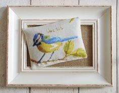 Blue Tit lavender bag, £4.00.  http://fromragstobags.com