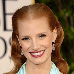 Jessica-Chastain and Jennifer Lawrence -Golden-Globes-2013 - What products did they use?