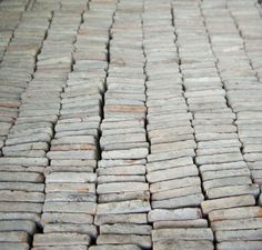 antique tiles - Van Apers. (would love a pallet of this!!)