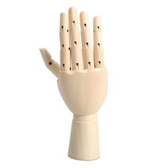 Wooden Artist Articulated Right Hand Model - Goodyy Woodyy