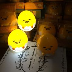 Just in to our Accessories collection! Kawaiiiii :3  Gudetama Egg Light-Up LED Night Light