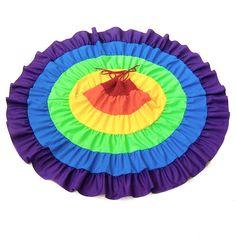 Rainbow Dress Rainbow Twirl Dress Rainbow by MySweetieBean on Etsy, $65.00