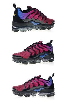 watch 65d63 5413b Nike Air Vapormax Plus TN Black Team Red Hyper Violet AO4550-001 Cheap  Jordan Shoes