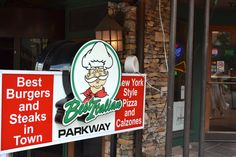 The Best Italian in Gatlinburg - Try the garlic knots!