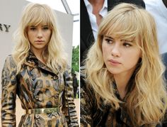 Sexy Waves Hairstyle How-To Inspired by Suki Waterhouse: Girls in the Beauty Department: glamour.com