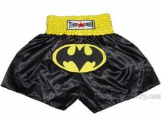 Thaismai Thaismai Muay Thai Shorts - Batman for sale.  [TSM-013]