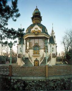 Hanava Pavilion, 1891, Otto Hieser, Prague, Czech Republic,