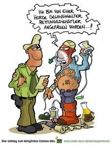Überfall vom Rettungsdienst