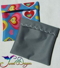 Not everyone wants to fiddle with installing a zipper in a wet bag, but it's nice to have a little bag of some kind to store a clean or dirty pad in. This tutorial is for a pad wrapper, which is a...