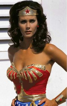 Lynda Carter's Wonder Woman! I remember pretending to be her, and spinning ar… Lynda Carter's Wonder Woman! I remember pretending to be her, and spinning around as fast as I could in our back yard Linda Carter, Lynda Carter Young, Linda Evans, Beautiful People, Most Beautiful, Beautiful Women, Gorgeous Movie, Gorgeous Teen, Beautiful Latina