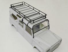 Adventure Land Rover Defender D110 Roof Rack