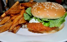 #burger #fries