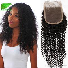 Grade Malaysian Human Hair With Closure Kinky Curly Hair With Closure… Kinky Curly Hair, Curly Hair Styles, Malaysian Curly Hair, Lace Closure, Hair Piece, Sequin Skirt, Fashion, Moda, Fashion Styles