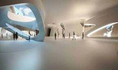 Image result for zaha hadid minimal interiors