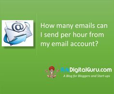 How many emails can I send per hour from my email account ? Wondering why your emails are not getting delivered? Get to know the emailing limits.