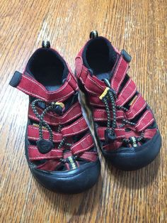 3f72eb1f6f Keen Waterproof Sandals Red Youth Size 10  fashion  clothing  shoes   accessories