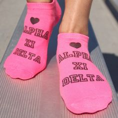 We're thrilled to have our socks featured in Alpha Xi Delta's Holiday Gift Guide: Licensed Vendor Edition   Alpha Xi Delta  Thank you for the feature!